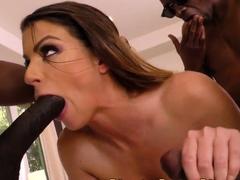 Interracial anal whore