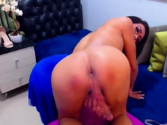 Sexy Shemale Plays her Hard Cock