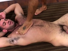 Exposed butt gay porn with foot fetish scenes