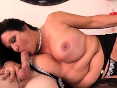 Golden Slut - Sucked off by an Old Woman Compilation