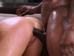 BLACKED BBC-loving Blonde baddie Jordan cheats on boyfriend